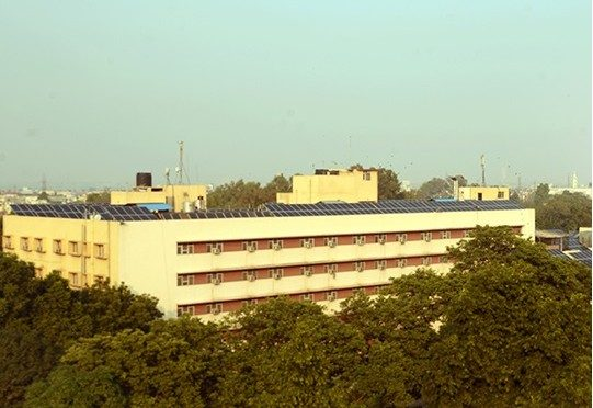 Solar Power Plant to reduce a hospitals Electricity Bill