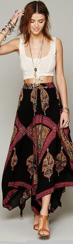 Boho Chic A Popular Fashion Style This Summer