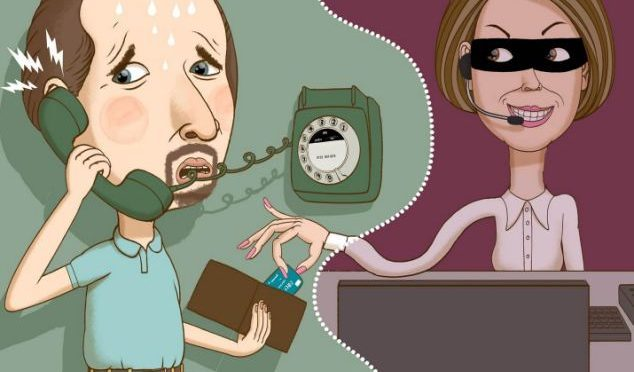 The whole new level of credit card fraud calls